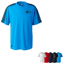 adidas Golf Men's ClimaLite® 3-Stripes T-Shirt