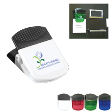 Magnetic Mega Memo and Chip Clip with Full Color Imprint