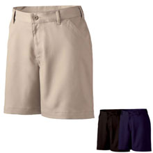 Ladies Motivate Khaki Shorts