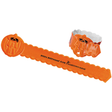 Reflective Safety Pumpkin Bumpy-Bracelet™ Wristband