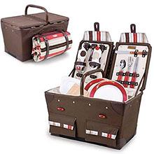 Pioneer Picnic Basket Set - Moka Collection