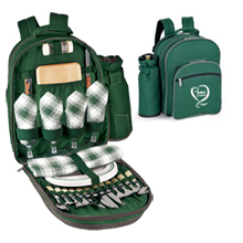Sorrento Picnic Insulated Backpack Cooler Set