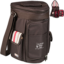 Meritage Wine & Cheese Insulated Cooler Tote Set - Moka Collection