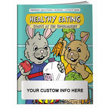 Healthy Eating Starts At The Supermarket Coloring & Activity Book