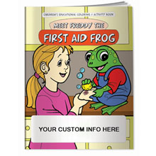 Meet Freddy the First Aid Frog Coloring & Activity Book