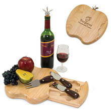 Apple Cheese Board Set