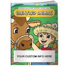 Barnyard Animals Coloring & Activity Book