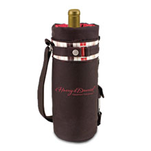 Wine Sack with Corkscrew - Moka Collection - Free Set Up Charges!