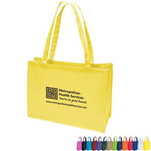 "Hailey Non-Woven Tote, 16"" x 12"" - Free Set Up Charges!"
