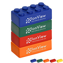 Building Blocks Stress Reliever - Set of 4
