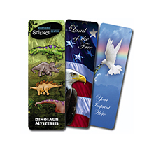 Bookmark, Full Color Digital with 2 Side Custom Imprint