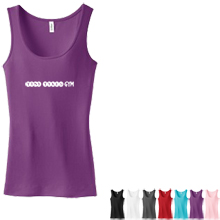 District Threads® - Junior Ladies Perfect Fit 1x1 Tank