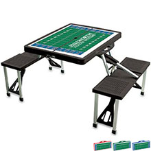Folding Table with Seats - Football Field