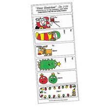 Holiday Gift Tags - Christmas Cartoon Theme