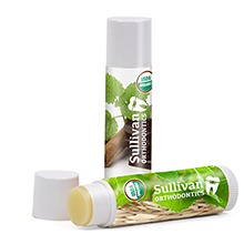 Organic Mint Burst Lip Balm, USDA Certified