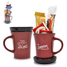 "Appreciation Tea Mug Gift Set, ""Thanks For Being So Tea-riffic!"" Design, Stock"