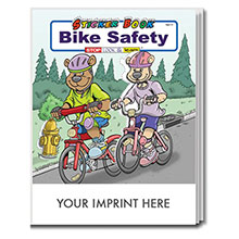Bike Safety Sticker & Coloring Activity Book