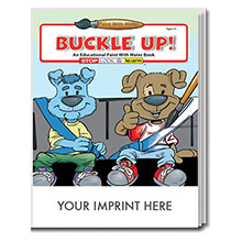 Buckle Up Paint with Water Book