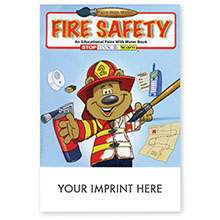 Fire Safety Paint with Water Book