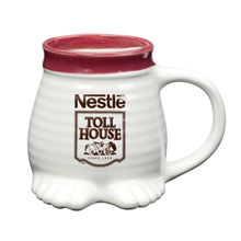 Footsie Ceramic Mug, 16 oz.