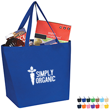 Budget Shopper Non-Woven Tote - Free Set Up Charges!