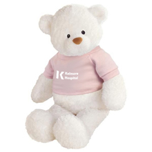 "Gund® Plush Baby White Bear, 13"""