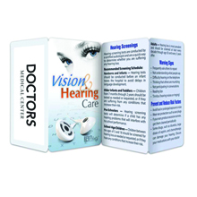 Vision & Hearing Care Guide & Record Keeper Key Points™