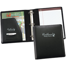 "Titan Leather 2"" Ring Binder"