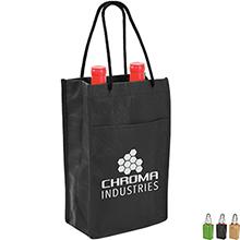 Non-Woven Double Wine Bottle Bag