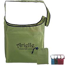 Fold-Away Recycled PET Sling Bag