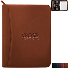 Bellmont Zippered Padfolio