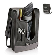 Rossa Wine Cooler Tote Set - Solid Colors