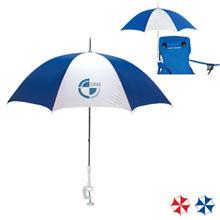 "Clamp-On Beach Umbrella, 48"" Arc"