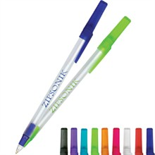 BIC® Round Stic® Pen, Clear Colors