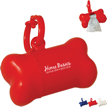 Dog Bone Shaped Pet Waste Bag Dispenser