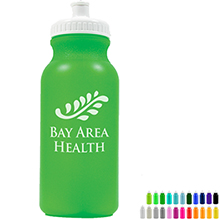 Bike Bottle, 20oz., BPA Free - Free Set Up Charges!