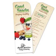 Good Snacks/Staying Healthy Bookmark