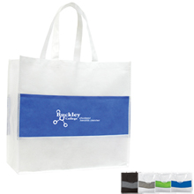 Center Stripe Non-Woven Tote