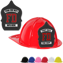 Custom Kid's Junior Firefighter Hat, Fire Department Design