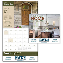 Home Improvement Tips Wall Calendar