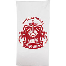 Classic White Heavy Weight Beach Towel, 20 lbs.