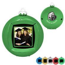 Digital Photo Frame Holiday Ornament