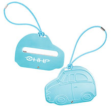 Car Shaped Aluminum Luggage Tag