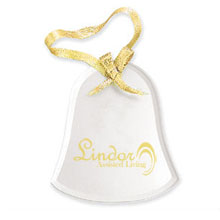 Bell Shaped Glass Ornament
