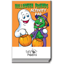 Halloween Friends Activity Pad