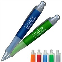 Frosted Gripper Retractable Pen