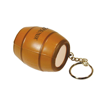 Barrel Stress Reliever Key Chain