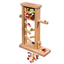Wooden Jelly Bean Dispenser