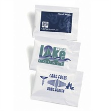 Antibacterial Moist Towelette Sanitizer Packet - Free Shipping!