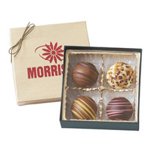 Chocolate Truffles - 4 Pack